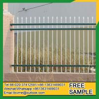 Buy cheap Americus picket fence Meriden steel ornamental fencing from wholesalers