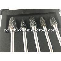 Buy cheap YG8 Tungsten Carbide Rotary Burrs / Tungsten Carbide Grinding Bits For Non Ferrous Metal from wholesalers