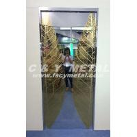 Buy cheap Partial surface of elevator's door customized by C&Y METAL-20140329B from wholesalers