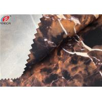 Buy cheap Ester Marble Printing 95 Polyester 5 Spandex Fabric Bonded With TPU Film from wholesalers