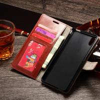 Buy cheap Sony M4 Aqua Durable Sony Xperia Leather Case Wallet Stand Handmade Anti - Dirt from wholesalers