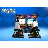 Buy cheap TT moto 42 Inch Car Racing Game Machine Coin Operated , Arcade Driving Simulator from wholesalers