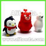 Buy cheap Custom pvc cute 3d carton figures animal shape action figures from wholesalers