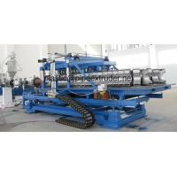 Buy cheap DWC 50-200mm HDPE/PP Double Wall Corrugated Pipe Extrusion Line from wholesalers