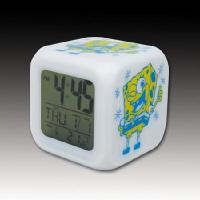 Buy cheap SpongeBob colorful color alarm clock random color from wholesalers