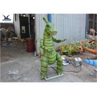 Animatronic Waterproof Dinosaur Lawn Statue For Outside Garden Decoration