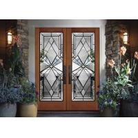 Buy cheap Custom Double Sealed Beveled Edge Glass For Building / Decoration Security from wholesalers