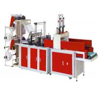 4 Line Plastic Bag Making Machine , LDPE HDPE Plastic Bag Cutting And Sealing Machine