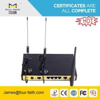 Buy cheap F3C30 4g dual sim Router with 1 WAN port & 4LAN ports support TCP/IP & UDP & VPN from wholesalers