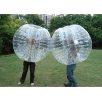 Buy cheap Grass Human Inflatable Bumper Ball , Customized Color Giant Inflatable Hamster Ball from wholesalers