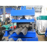 Buy cheap 380V 3 Phase Three Wave Guardrail Roll Forming Machine for Highway Guardrail from wholesalers