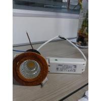 Buy cheap led cob downlight 15W 20/40/60 degree dimmable cob downlight,3000K.4000K .5000K from wholesalers