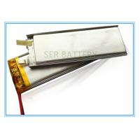 Buy cheap Small Ultra Thin Lithium Polymer Battery583040 3.7V 700mAh Rechargeable Square Shape from wholesalers