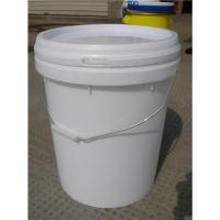 Buy cheap 19L plastic bucket with lid from wholesalers