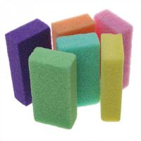 Buy cheap Customized size with multi color foot stone nail salon supply pumice sponge for foot stone from wholesalers