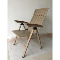 Buy cheap Folding chair with powder coating aluminum frame + Textilene by Clover Lifestyle from wholesalers