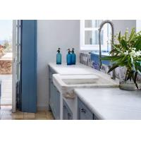 Buy cheap Waterproof Stone Kitchen Countertops / Multicolor Eased Edge Countertop from wholesalers