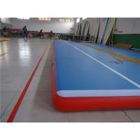 Buy cheap Commercial Outdoor Tumbling Mats , Blow Up Air TrackFor Playground Wear Resistance from wholesalers