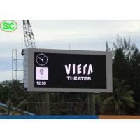 Buy cheap Big Commercial Advertising Timer Led Billboards With Aluminum Frame , Great Waterproof from wholesalers