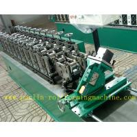 Buy cheap Hollow Runner Metal Stud And Track Roll Forming Machine for T Guide Track Panasonic PLC Control Atos Valve from wholesalers