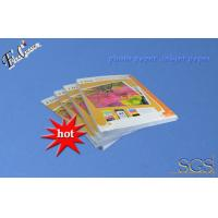 Buy cheap 180g Gummed inkjet photo paper A4 inkjet printing photo paper with factory price from wholesalers
