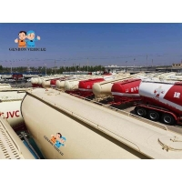 Buy cheap 3 Axles Large Capacity Bulk Cement Tank Semi Trailer for Sale Export to South Africa, Nigeria, Guinea, Libya, Egypt. from wholesalers