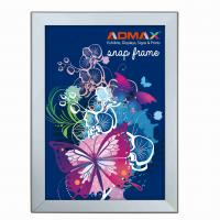Buy cheap A3 Snap Poster Frames Silver Lightweight Durable Rigid Plastic Sheet from wholesalers
