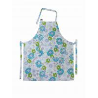 Buy cheap Cotton Bib Spring Floral Printed Old Fashioned Vintage Aprons Ladies Apron from wholesalers