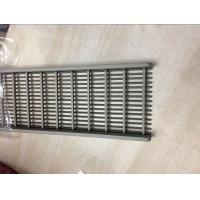 Buy cheap swimming pool overflow grating,stainless steel drainage grating from wholesalers