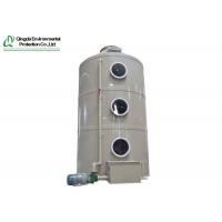 Buy cheap Two Fluid Nozzle 90℃ Working Industrial Waste Gas Spray Tower from wholesalers