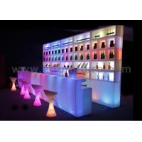 Buy cheap Corner Bar Tables / Bar Furniture , Mobile Bar Counter with Infrared Remote Control from wholesalers