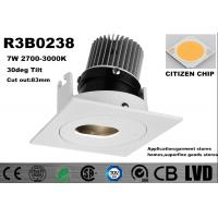 Buy cheap 3 Years Warranty Interior LED Spot Downlights Home COB LED Recessed Spotlights from wholesalers