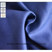 Buy cheap Navy Blue Pure Cotton Fire Retardant Fabric / Fireproof Cloth Material from wholesalers