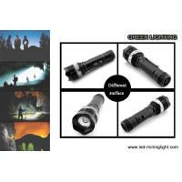 Buy cheap 10W High Power LED Flashlight Torch Rechargeable 2200mAh Li - Ion Battery from wholesalers