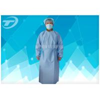 Buy cheap PP Nonwoven Medical Disposable Hospital Gowns With Tie / Magic Stick from wholesalers