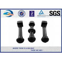 Buy cheap Oxide Black Railway Bolt Nut for Fish Plate Grade 8.8 45 #  tunnel bolt from wholesalers