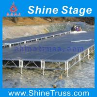 Buy cheap portable folding stage , aluminum assemble stage from wholesalers