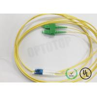 Buy cheap Single Mode SC/APC LC/UPC 2.0mm  Duplex Fiber Optic Patch Cord 3m from wholesalers