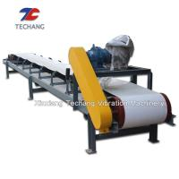 Buy cheap High Efficiency Belt Conveyor Machine , Large Angle Inclined Belt Conveyor from wholesalers