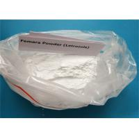 Buy cheap White Steroid Powder Letrozole Femara CAS 112809-51-5 Treat Breast Cancer from wholesalers
