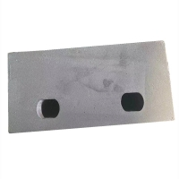 Buy cheap 63HRC double-hole hook plate Wear Plates for broken machine product