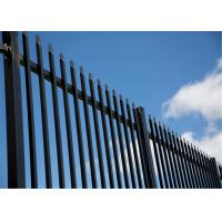 Buy cheap Curved Picket Fencing/ Square Pipe Fencing Wall from wholesalers