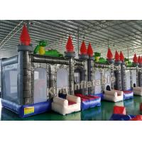 Buy cheap Custom 4 X 4m Dragon Inflatable Bouncy Castle With Blower For KIds from wholesalers
