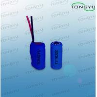 Buy cheap 3.7V 130mAh Rechargeable Lithium Batteries For Handheld Electronics / Bike Light from wholesalers