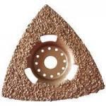 Buy cheap 80mm Flush Cut Triangular Carbide Rasp from wholesalers