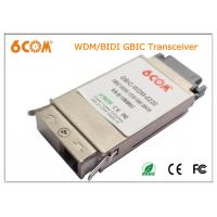 Buy cheap 1.25G WDM BIDI GBIC Transceiver module 1310nm 20KM SC for Server from wholesalers