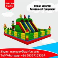 Buy cheap inflatable minions bouncy castle/custom printed bouncy house/large bouncy castles from wholesalers