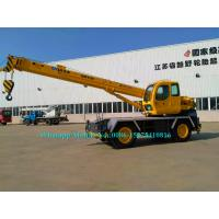 Buy cheap Brand New 10 Ton XCMG RT10 Mobile rough terrain crane telescopic Boom With Cummins Engine from wholesalers