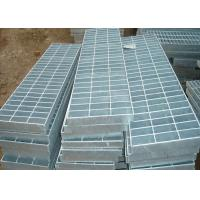 Buy cheap Corrosion Resistant Galvanized Steel Grating Silver 32 X 5 Metal Walkway from wholesalers