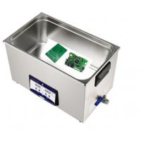 Buy cheap 30L 600W Benchtop Ultrasonic Cleaner ,PC board ultrasonic cleaner from wholesalers